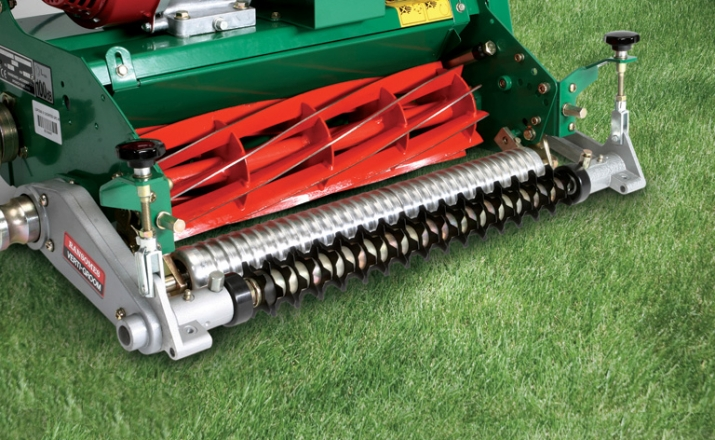 RS210 Ransomes Super Bowl Studio inc optional cert